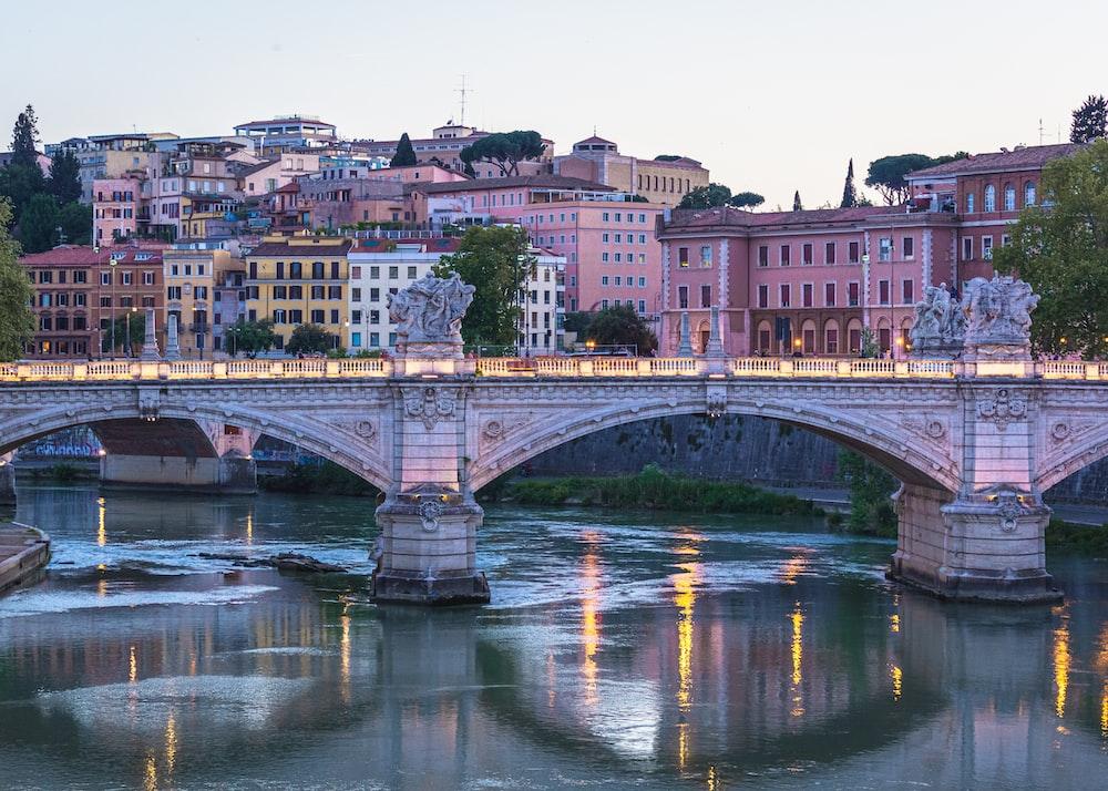bridge over river during daytime