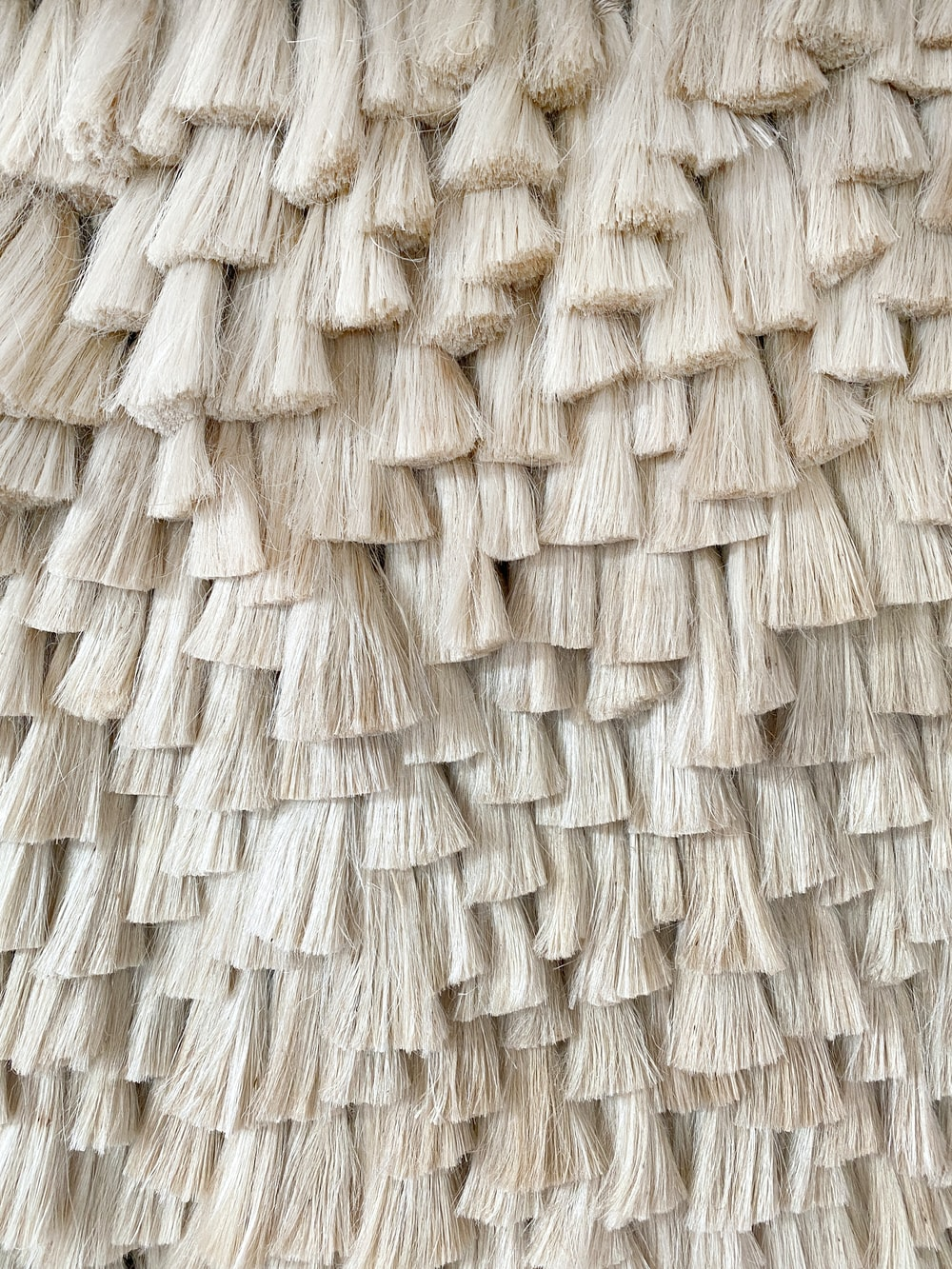 brown woven woven textile in close up photography