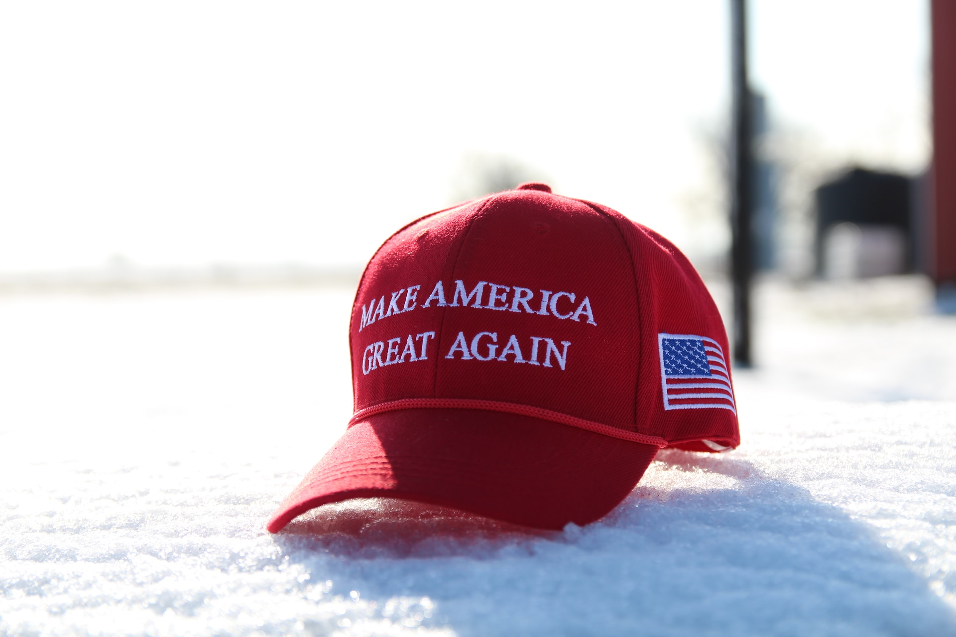 Beautiful hat! We're going to keep fighting to Make America Great Again!🇺🇸🇺🇸