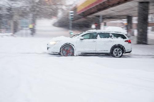 Jízda autem v nepříznivých podmínkách