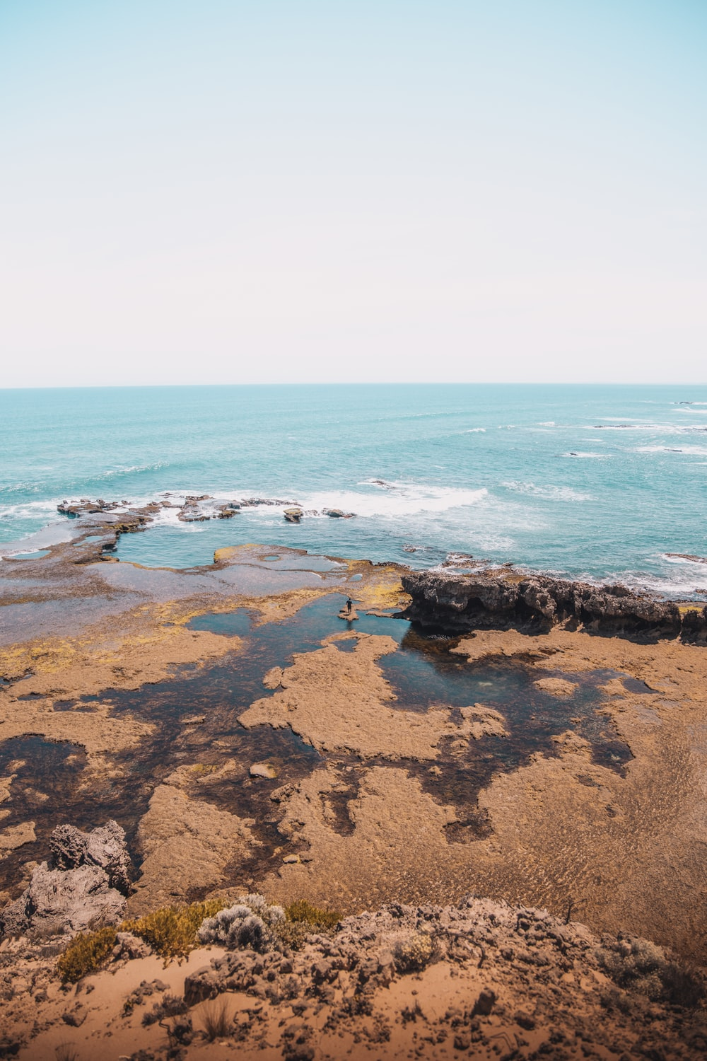 brown rocky shore during daytime