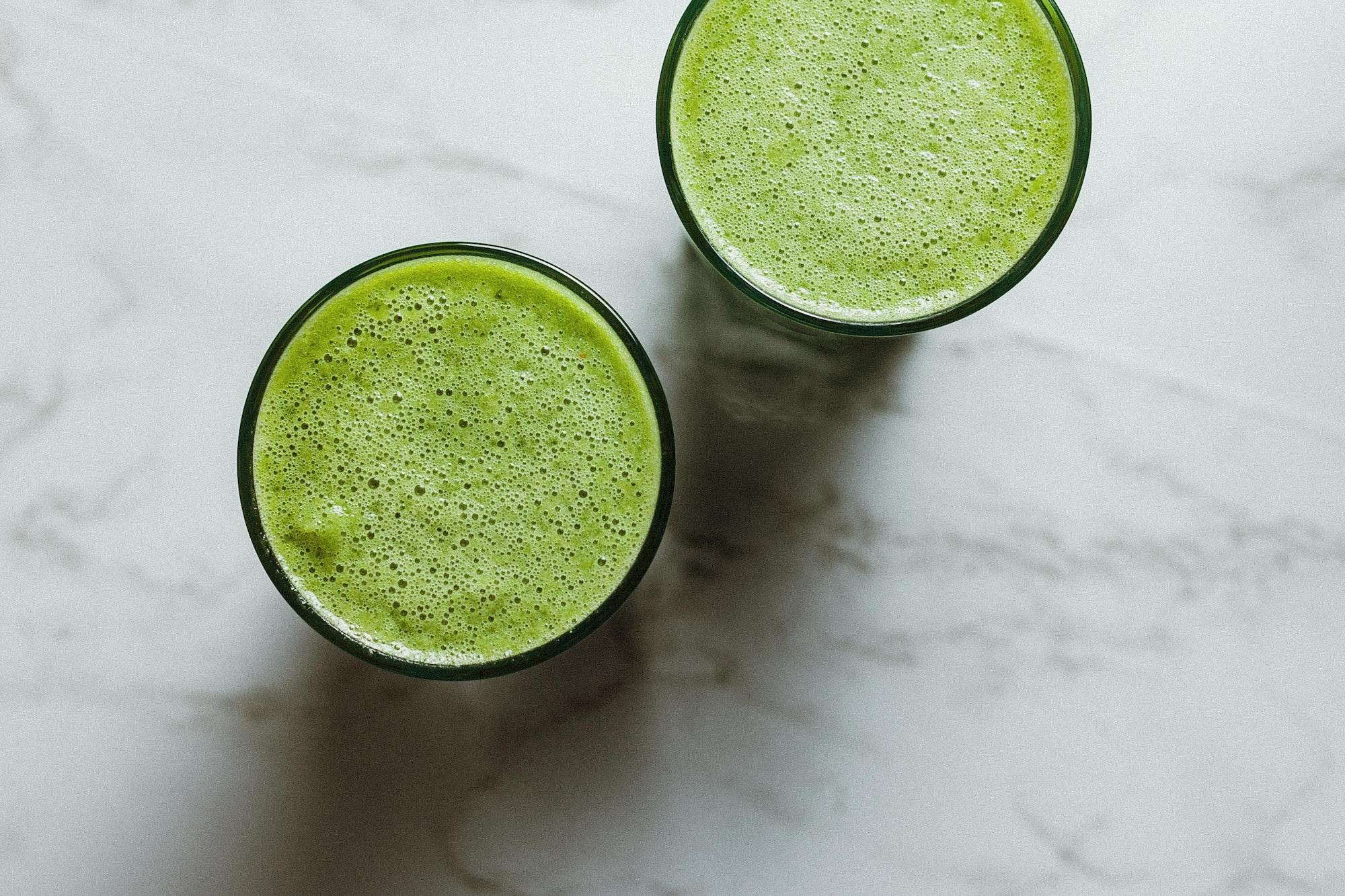 Grren juice by Alex Loup.