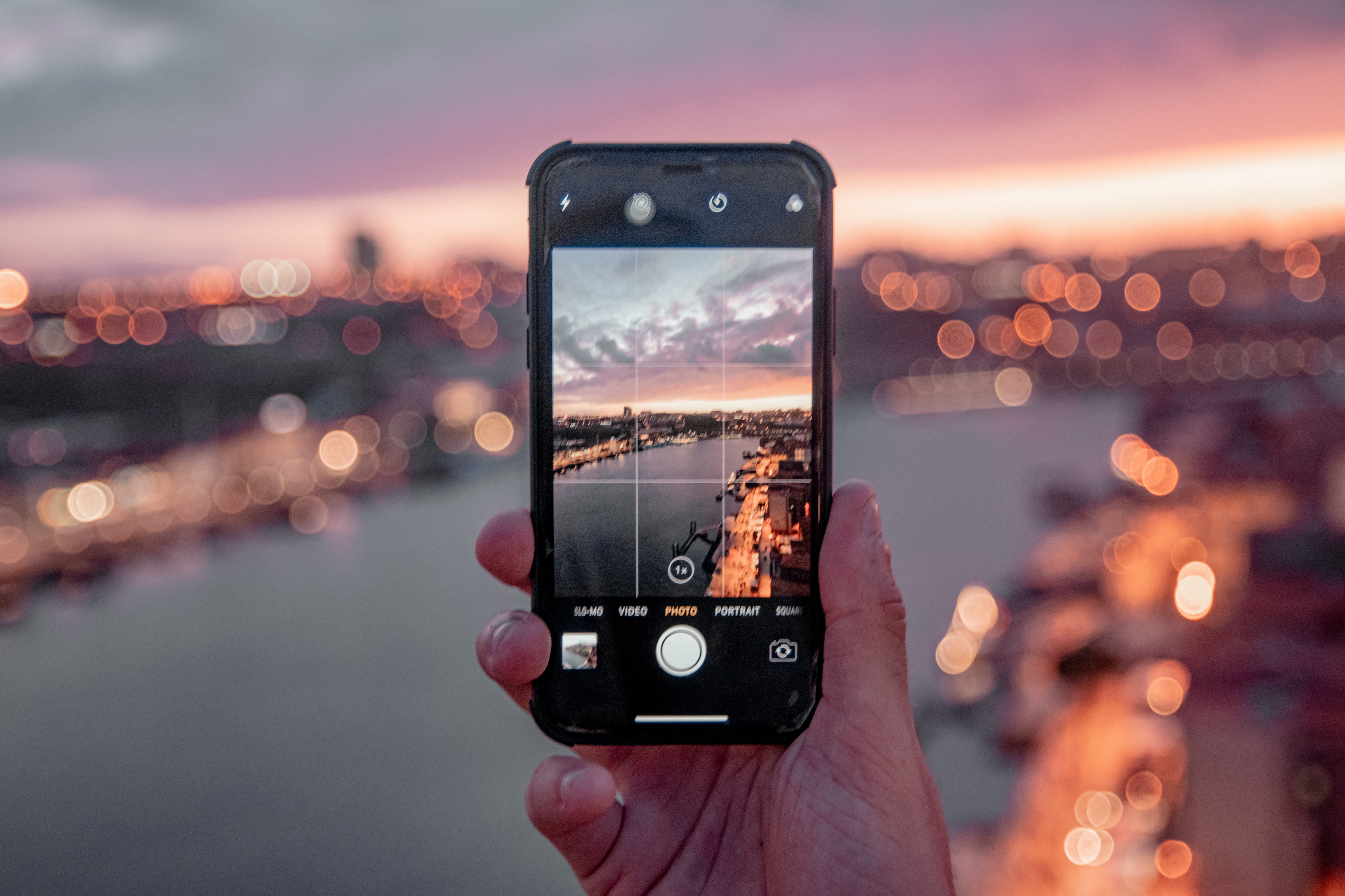 Focení mobilním telefonem