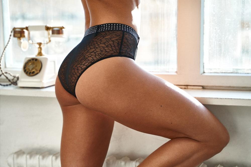 Ladies In Black Panties Pics Pic