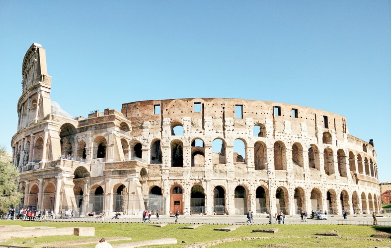 Colosseum, Rome, Iconic Landmarks in Europe