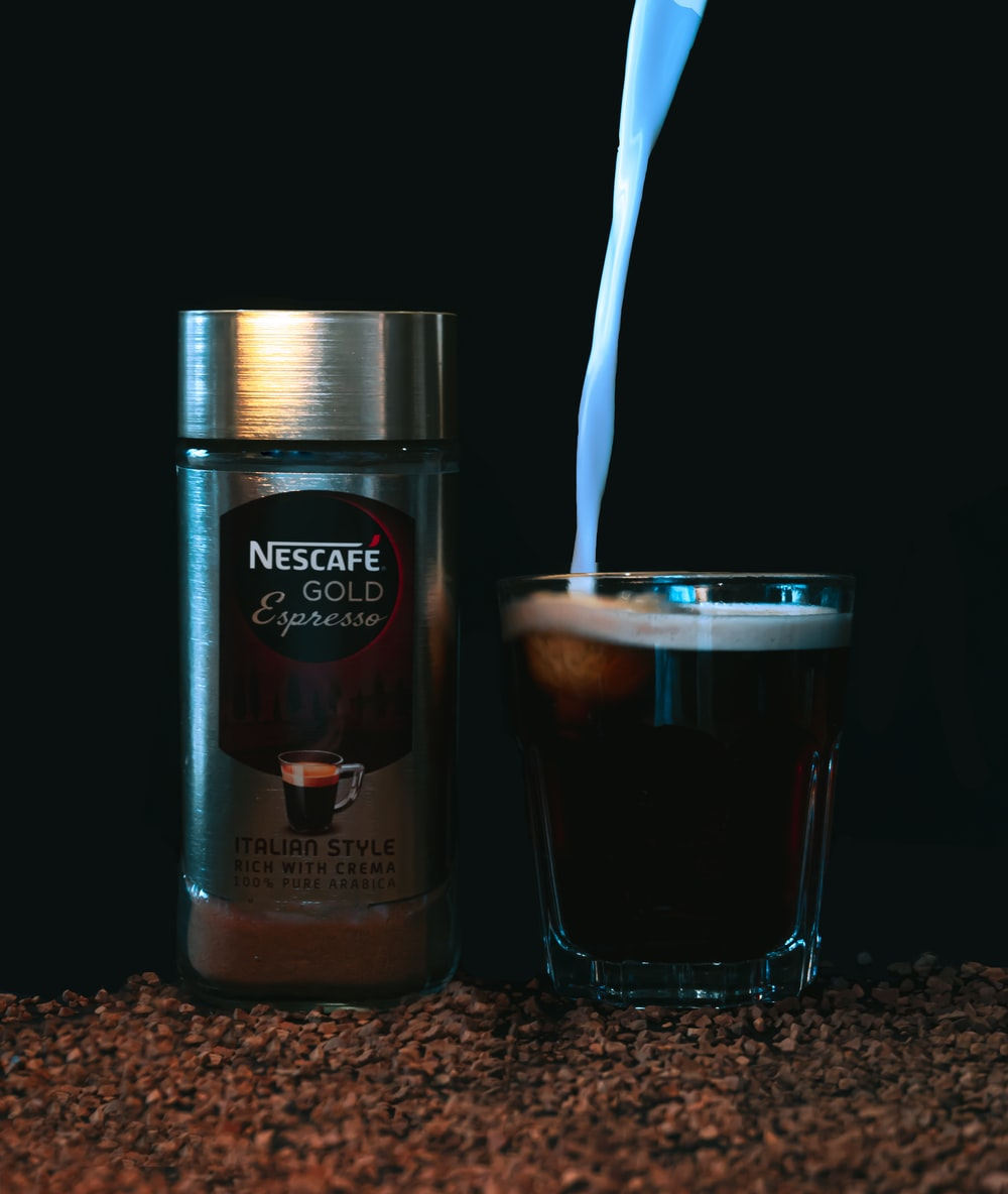 nescafe gold blend coffee jar