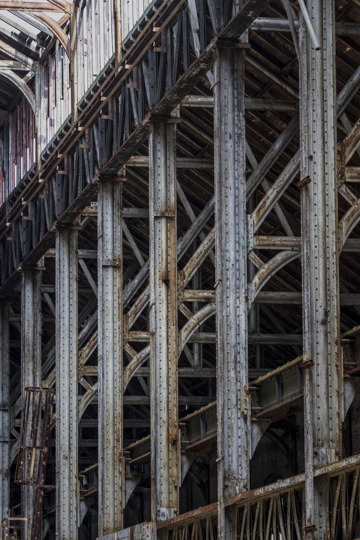 brown metal bridge during daytime