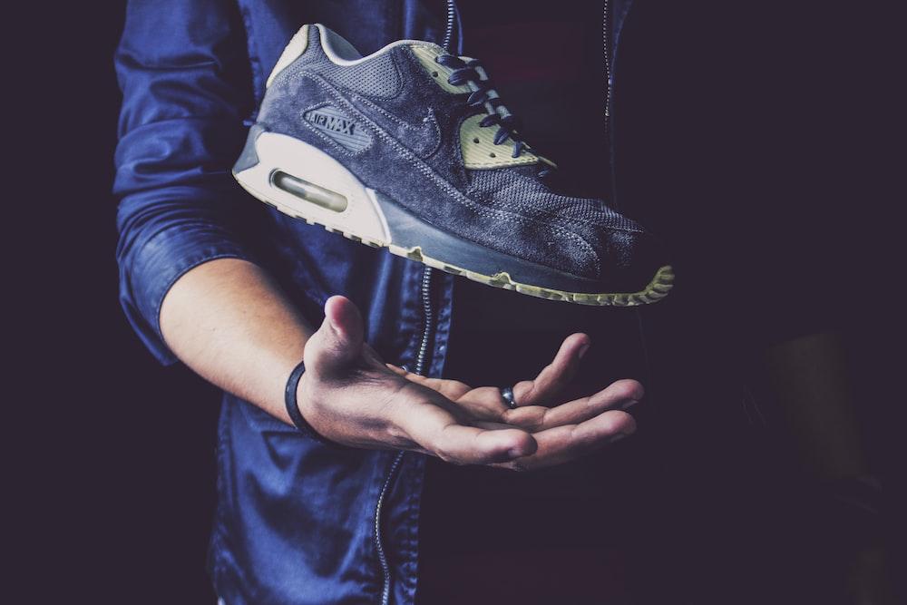 black and white nike air jordan 1 shoe