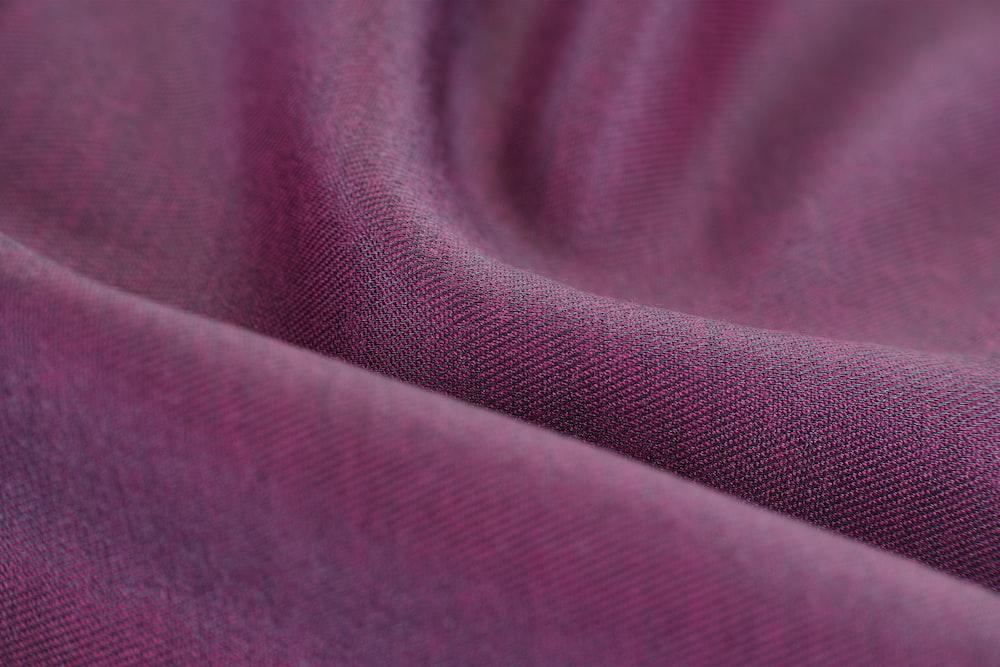purple textile in close up image