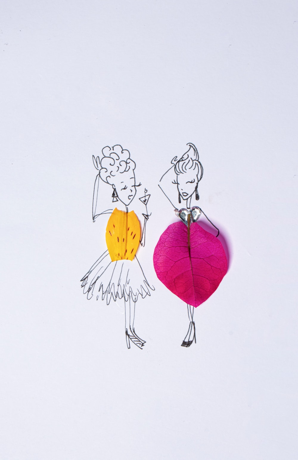 yellow and red balloon illustration