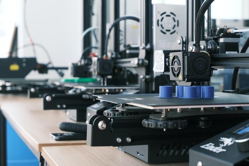 Plastic Parts 3D Printing Image