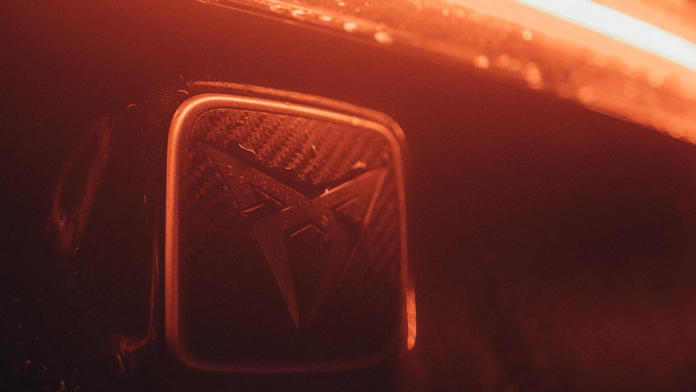 gold and black star emblem