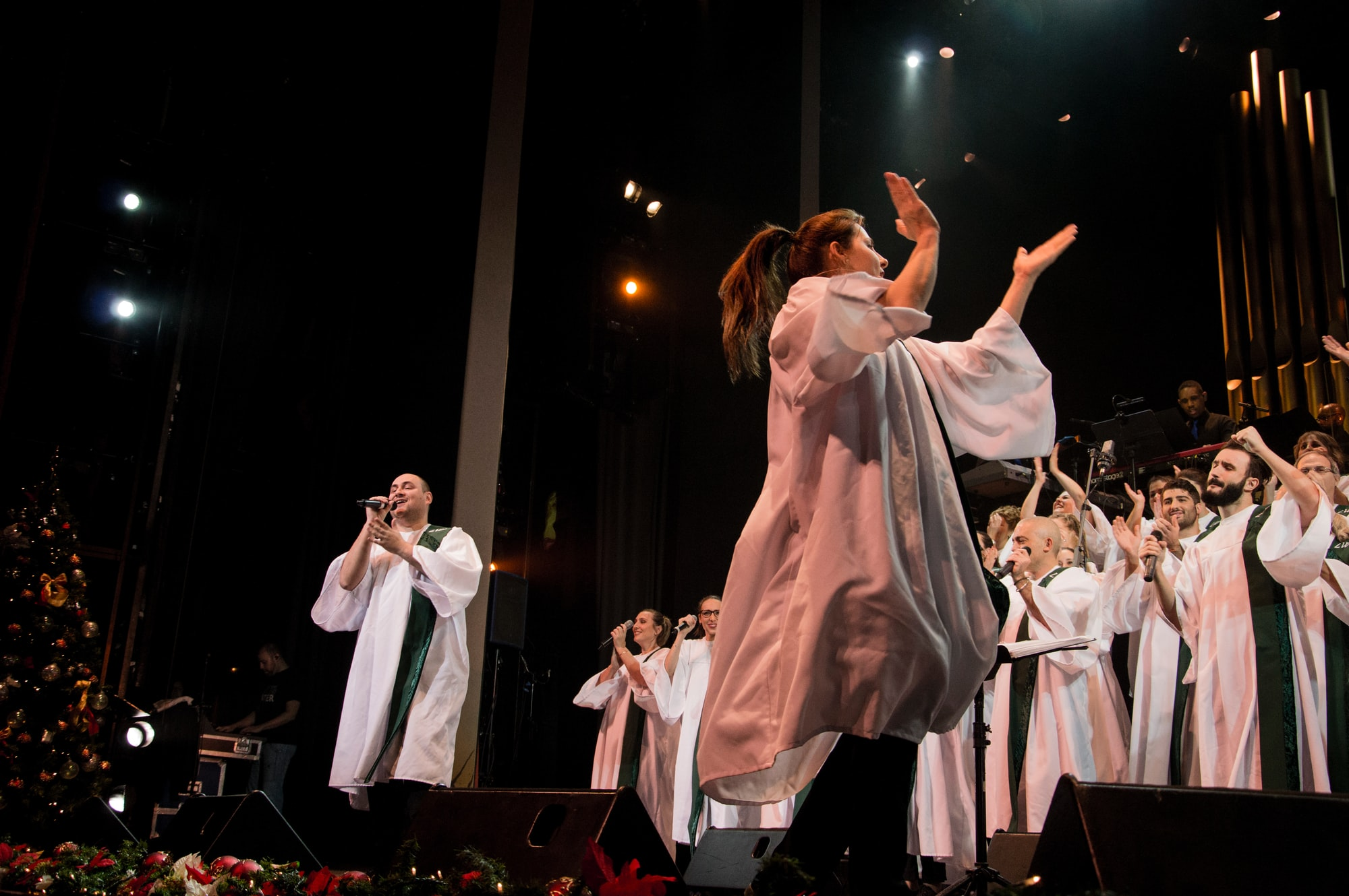 Gospel Living Water Concert in Madrid www.gospellw.org