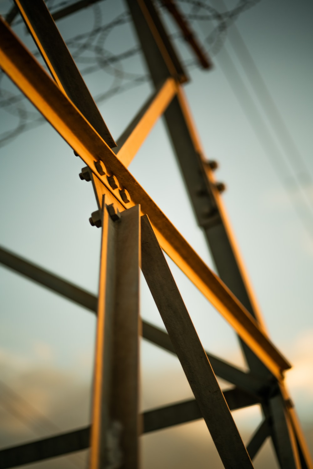 brown wooden ladder during daytime