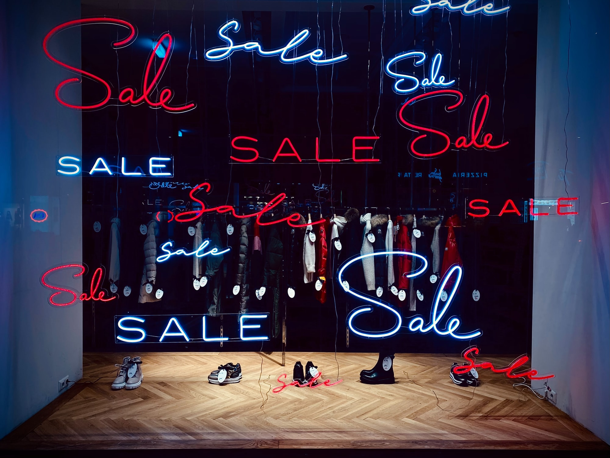 Sale Sale Sale, Kudos to the decoration artist at Hämmerle, Vienna, great piece of excellent work there!