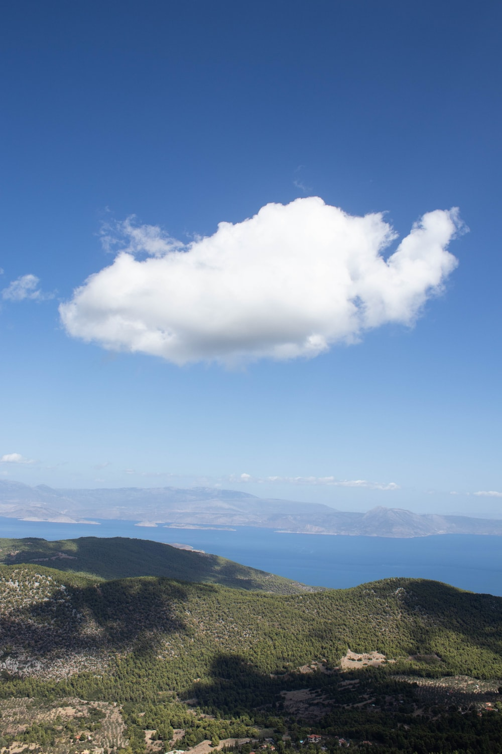 green mountains under blue sky and white clouds during daytime