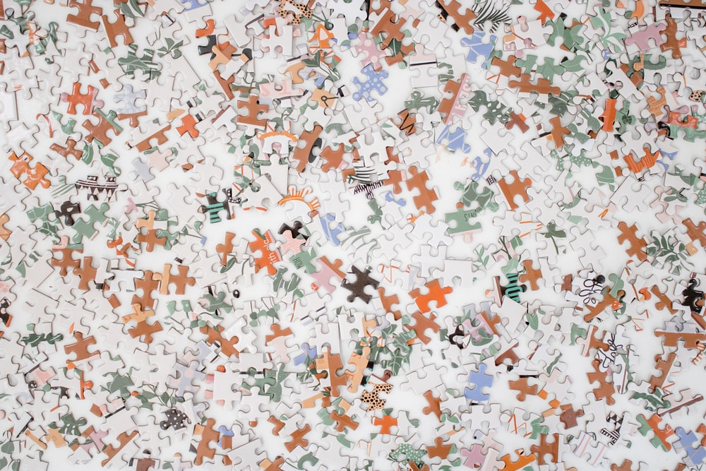 white blue and red stars print textile
