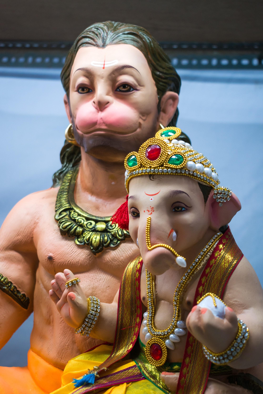 A beautiful idol of Lord Ganesha