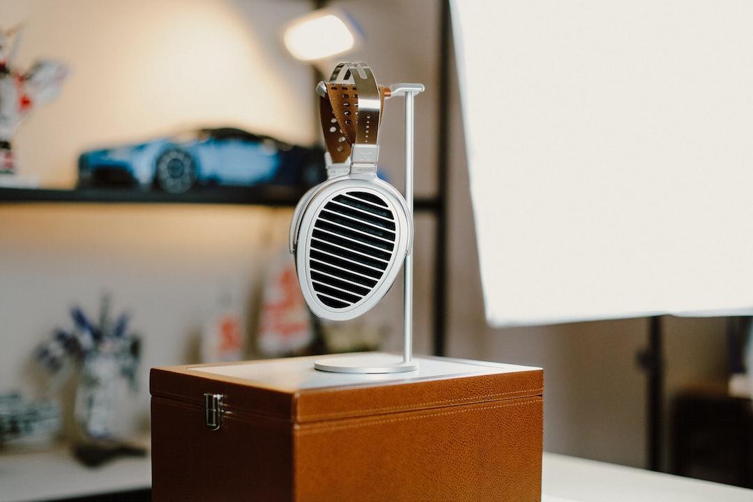 White and Black Round Portable Speaker - unsplash