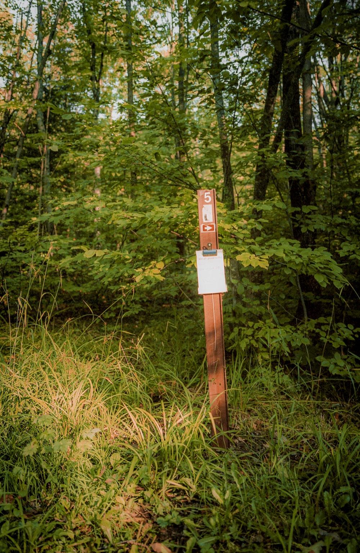 brown wooden cross on green grass field