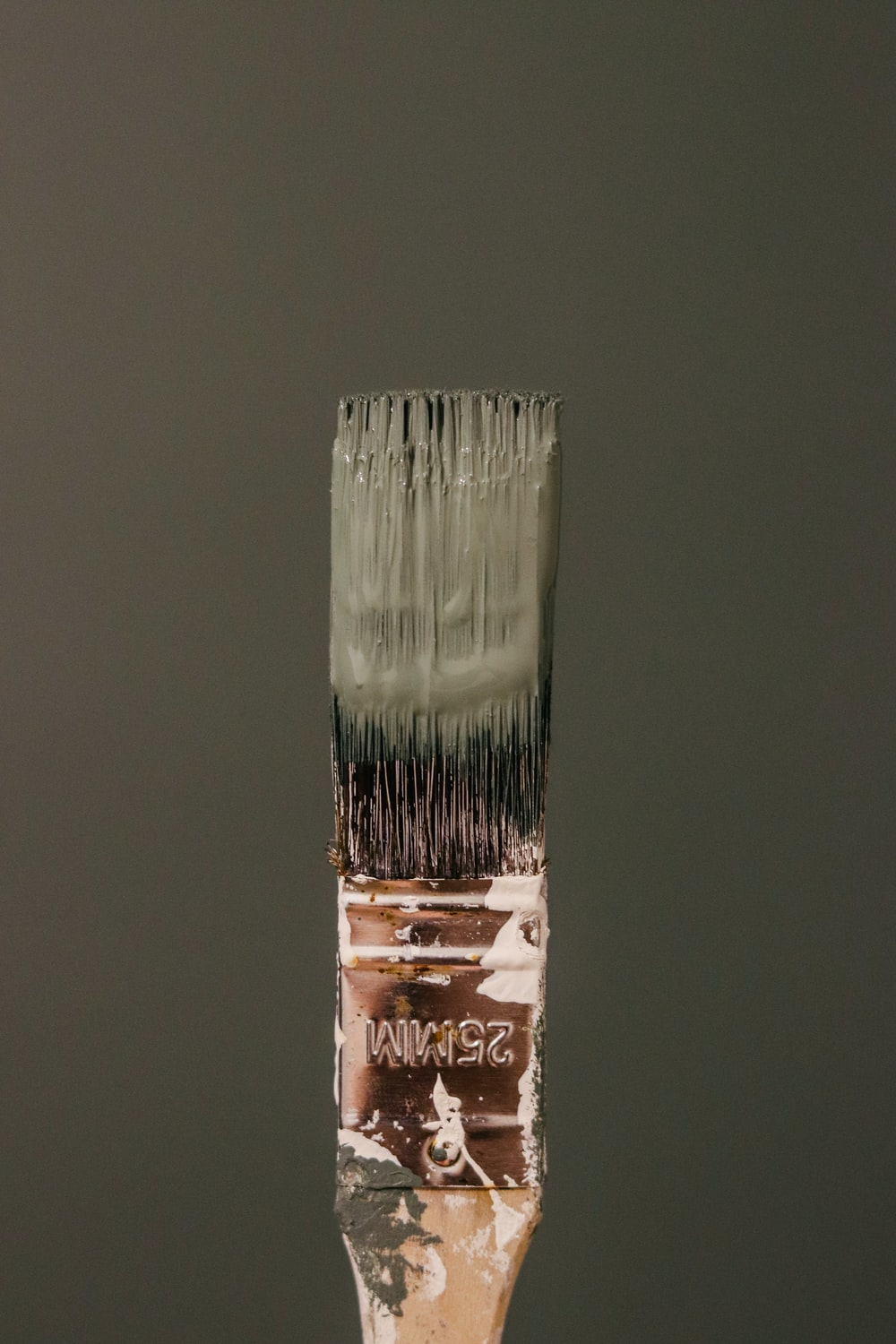 white and brown labeled soft tube