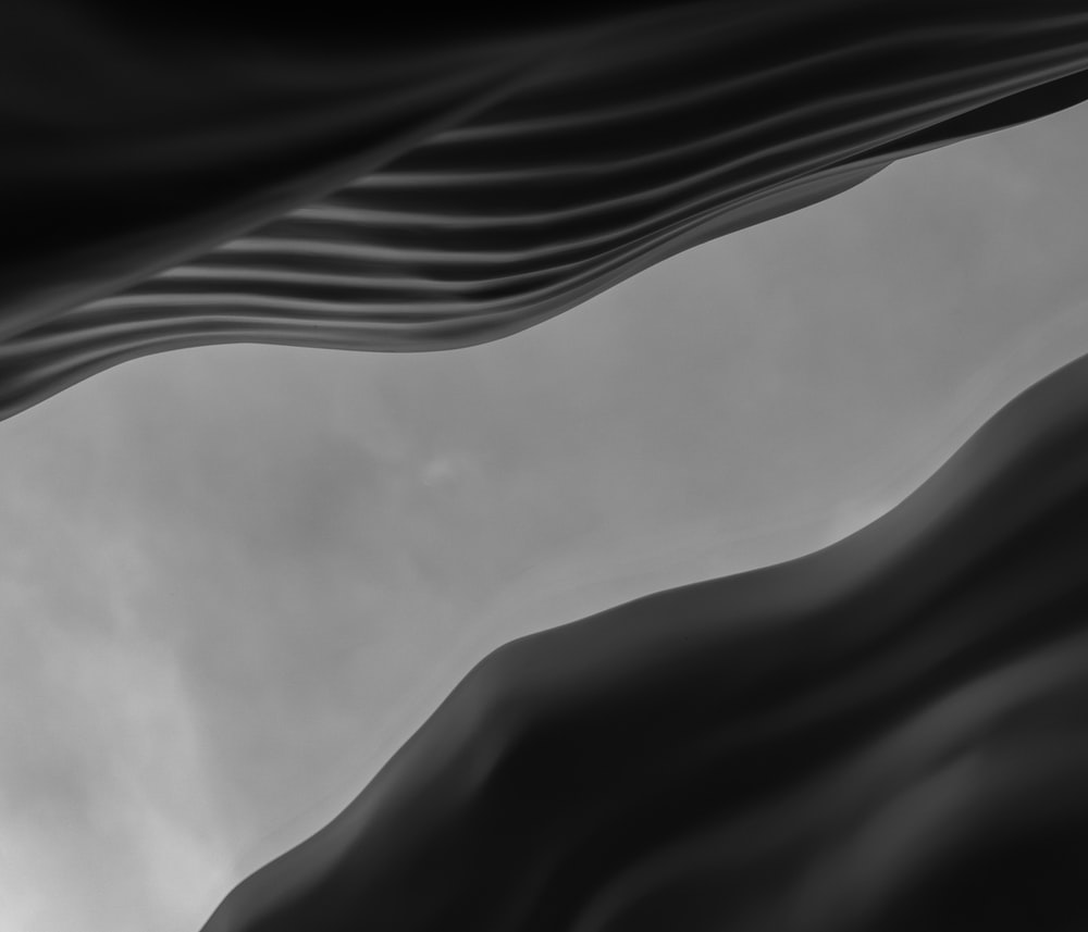 grayscale photo of clouds in sky