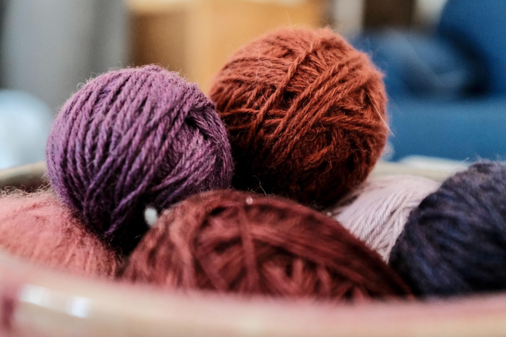Come cambiare ferro durante la lavorazione a maglia