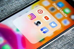 Clubhouse audio chat - New social media platform and other social media Instagram, Facebook, Youtube, Twitter, Pinterest