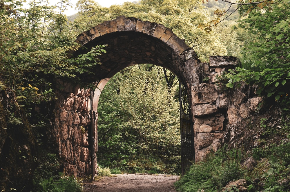 brown and gray arch shaped arch shaped arch shaped arch shaped arch shaped arch shaped arch