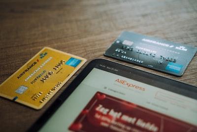 クレジットカード数種類