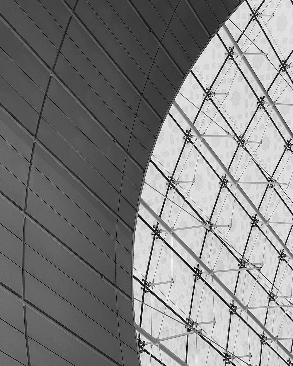 black and white metal frame