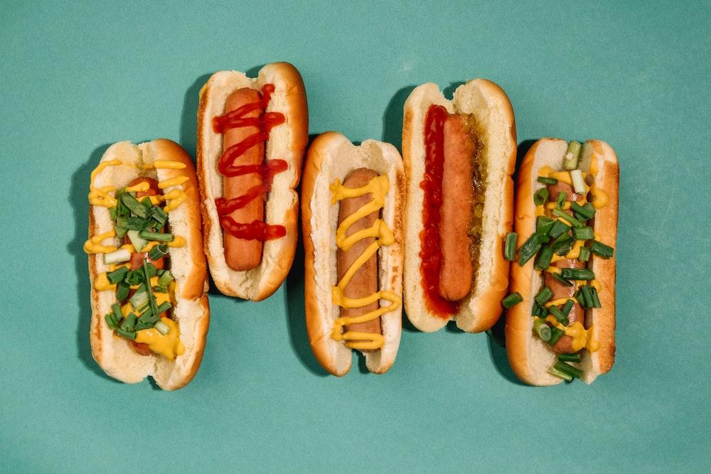 hotdog sandwich with tomato and cheese