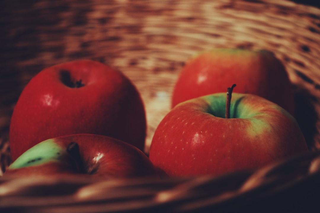 Apple Dog Treats
