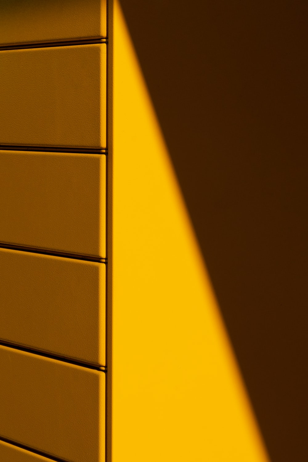 yellow and black wooden cabinet