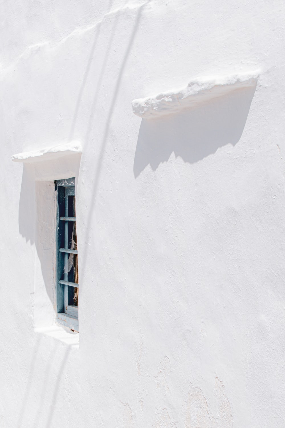 white snow covered stairs during daytime