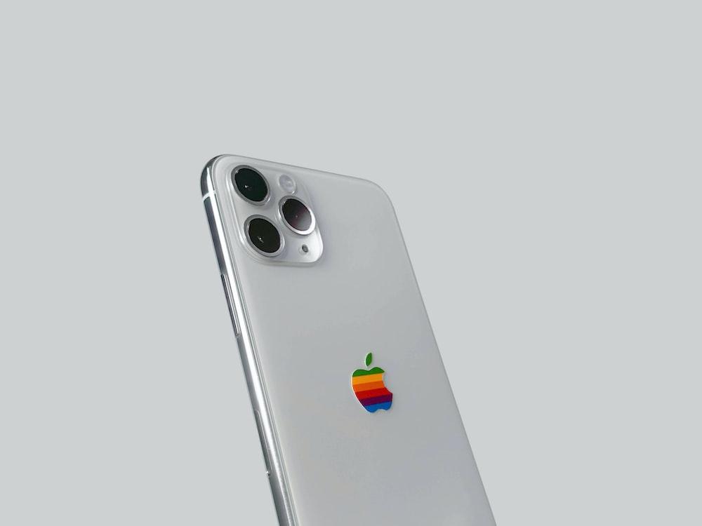 silver apple tv remote control