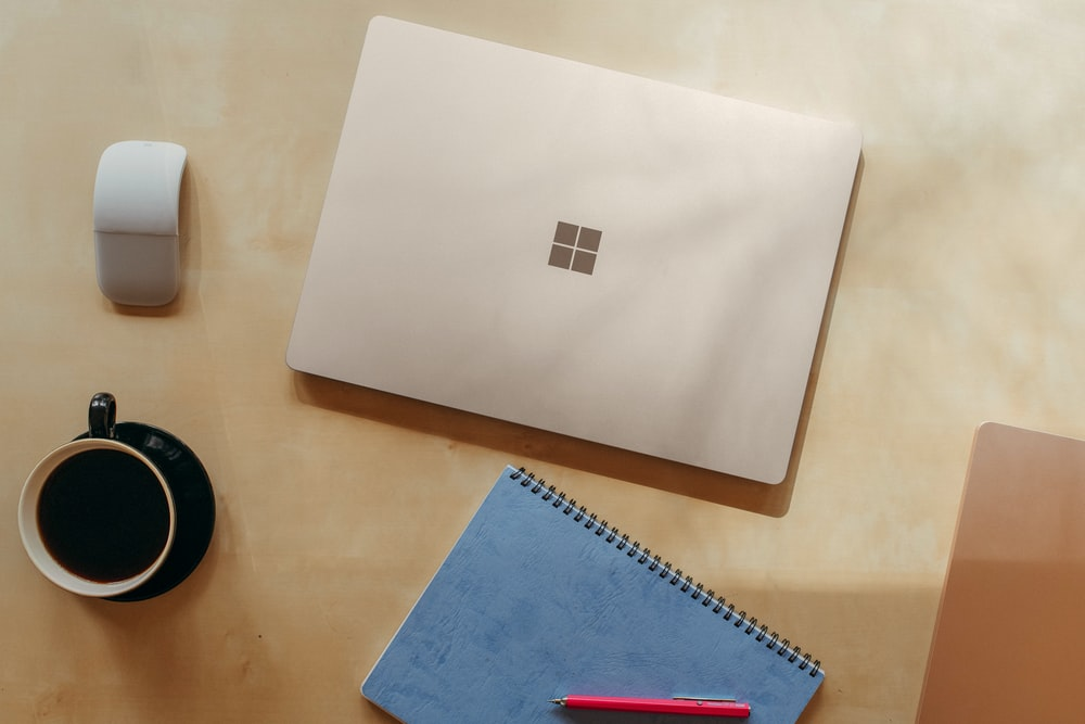 Surface device on table