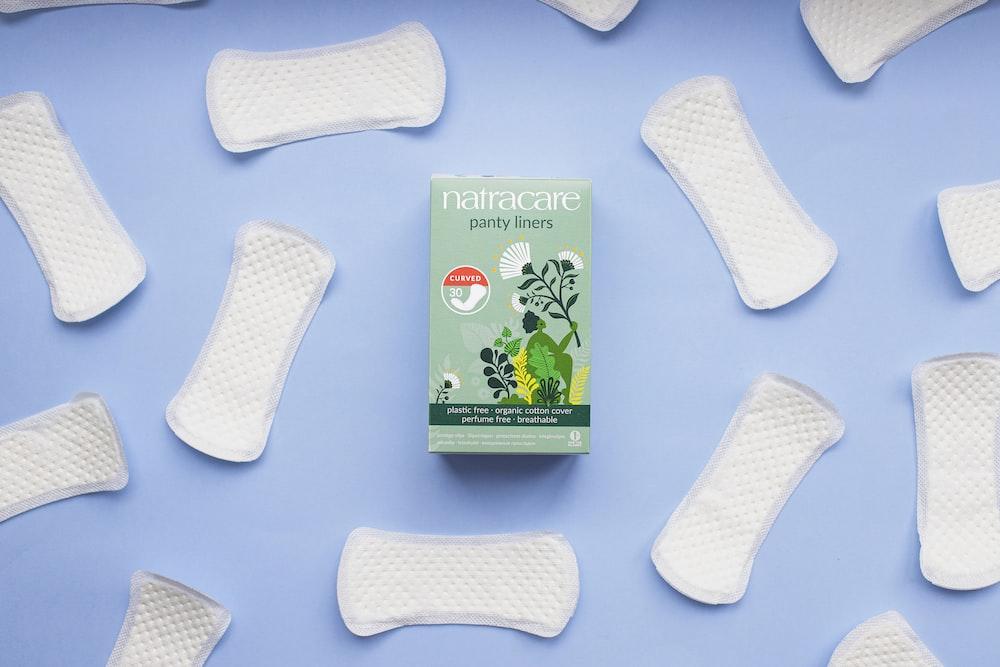 white socks on white table