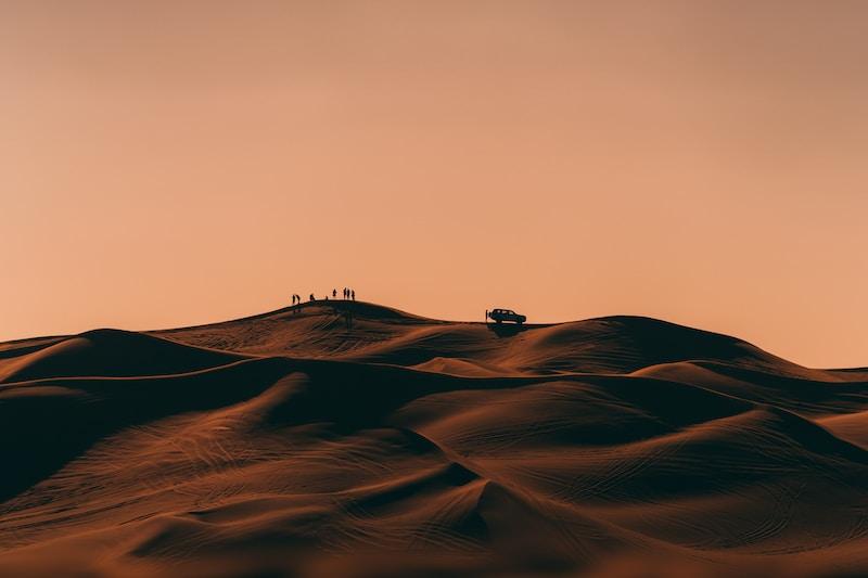 Coldest places in United Arab Emirates by minimum mean temperature