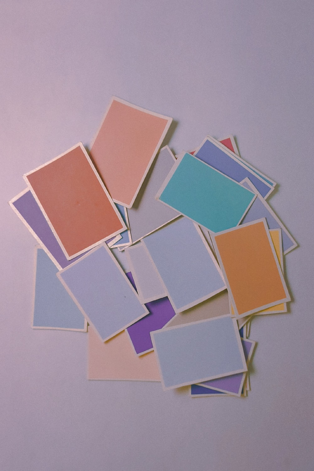 brown and white square paper