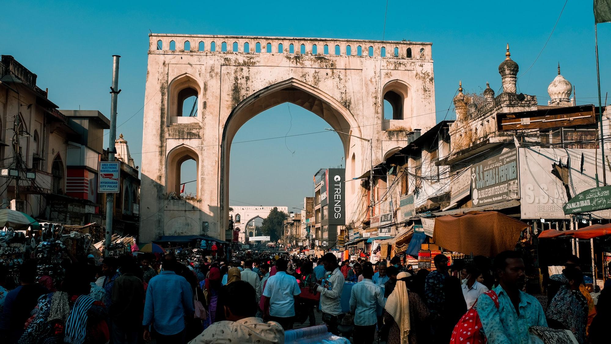 Through the old Nizam City