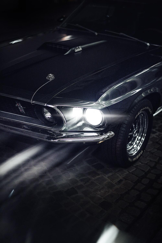 black mercedes benz c class coupe
