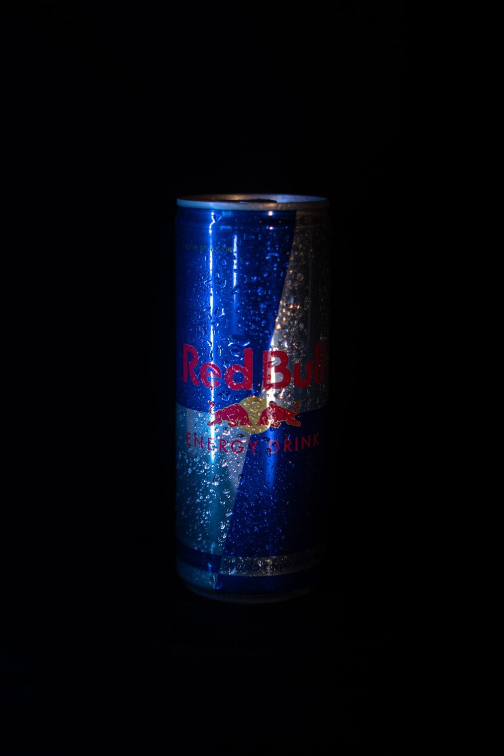 red bull energy drink can