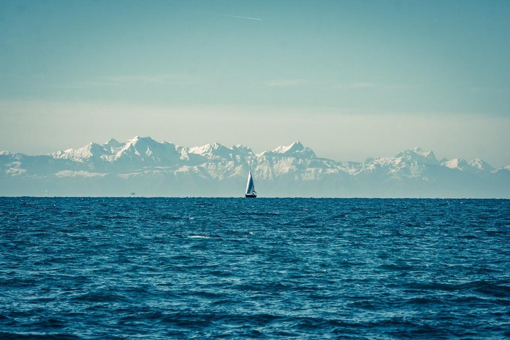 sailboat on sea during daytime