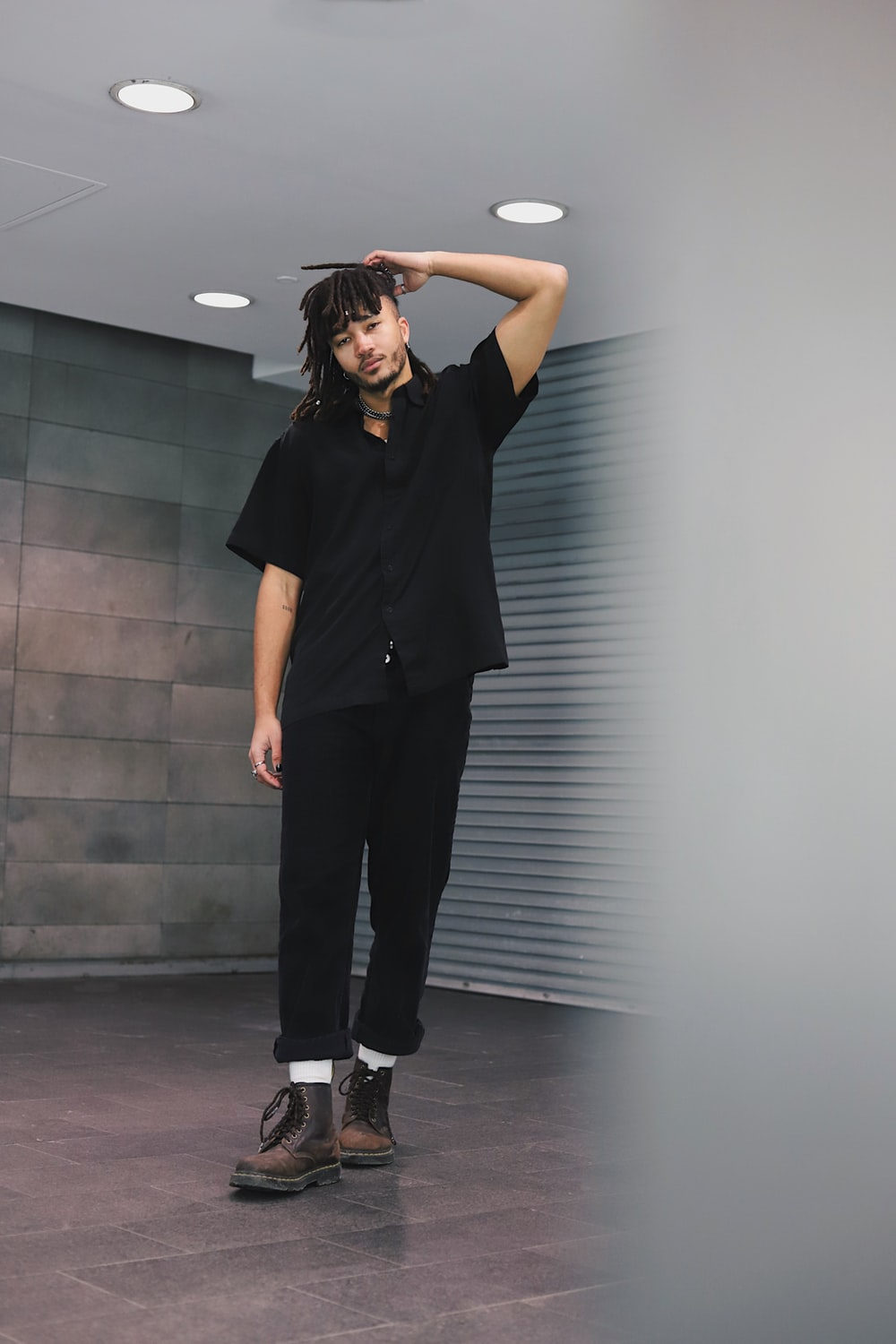 all black outfits men