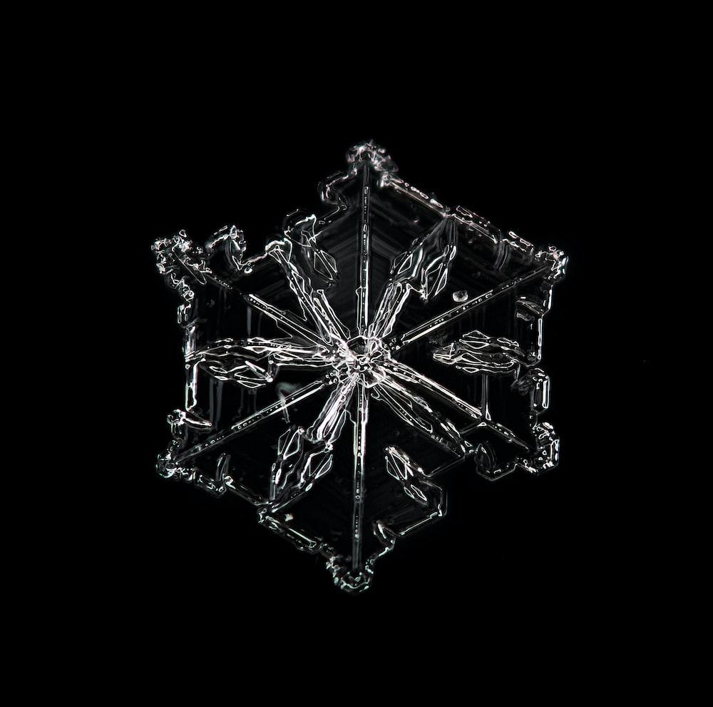 black and white diamond illustration