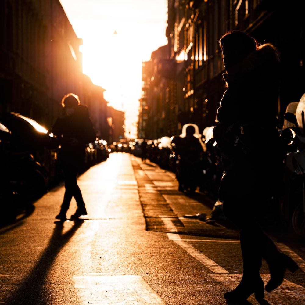 people walking on the street during daytime