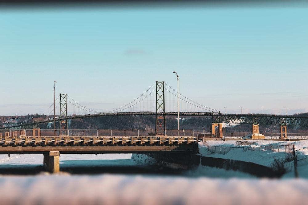 bridge over water during daytime
