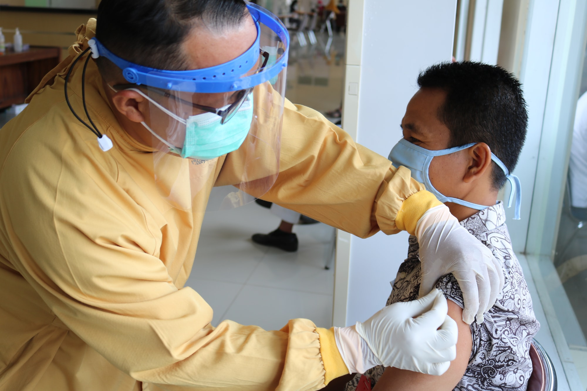 Covid-19 vaccination for medical personnel in Banyumas Indonesia