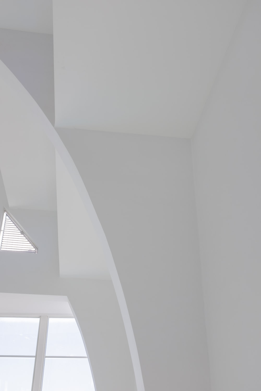 white ceiling with white ceiling